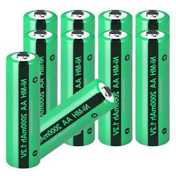1.2V 2000mAh Ni-MH AA Batteries Rechargeable for Solar Light