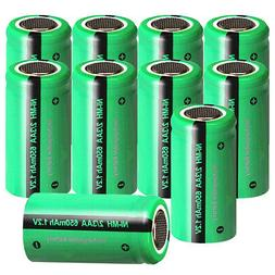 2/3AA Rechargeable Battery 1.2V 650mAh Ni-MH Batteries for S