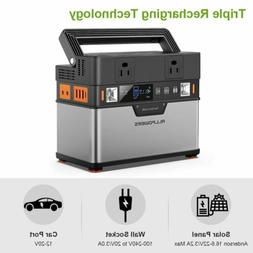 372Wh Portable Generator Solar Power Camping Emergency Power