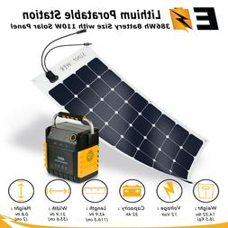 400W Portable Power Station with Options of SunPower 110-wat