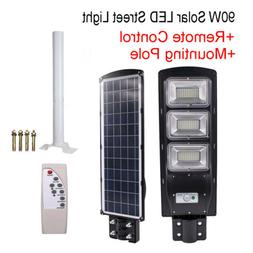 Outdoor Commercial 90W LED Solar Street Light Dusk to Dawn P