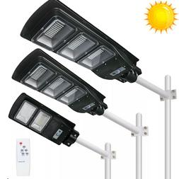 990000LM Solar LED Street Light Commercial Outdoor IP67 Area