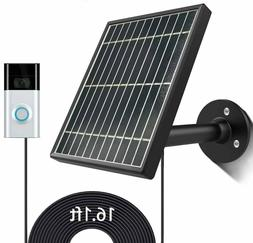 Solar panel for Ring Stick Up Cam Battery/Video Doorbell 1/2