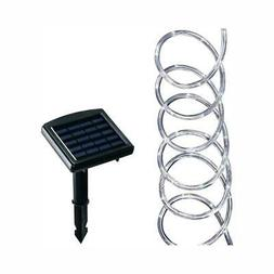 Hampton Bay Solar Powered Clear Outdoor LED Warm White Lands