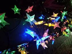 Dragonfly Home Products Solar Powered String Lights Outdoor